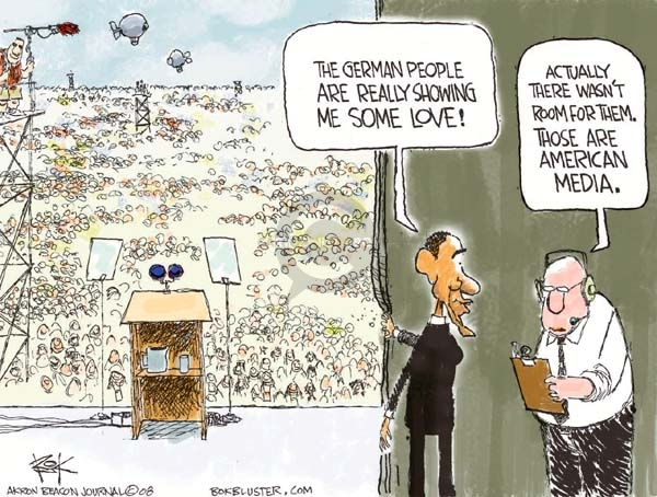 Cartoonist Chip Bok  Chip Bok's Editorial Cartoons 2008-07-22 international relations