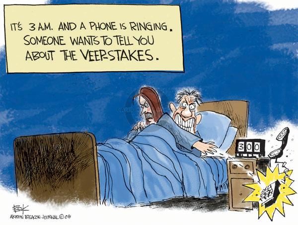 Cartoonist Chip Bok  Chip Bok's Editorial Cartoons 2008-08-21 sleep