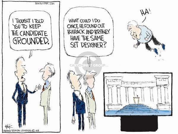 Cartoonist Chip Bok  Chip Bok's Editorial Cartoons 2008-08-29 democratic candidate