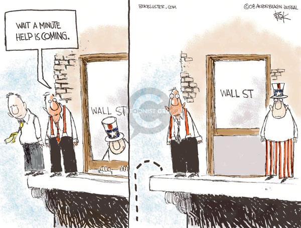 Chip Bok  Chip Bok's Editorial Cartoons 2008-09-18 stock market