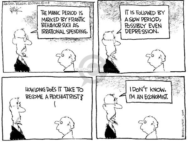 Chip Bok  Chip Bok's Editorial Cartoons 2008-09-23 mental