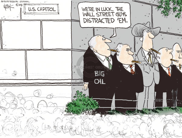 Chip Bok  Chip Bok's Editorial Cartoons 2008-10-13 Wall Street