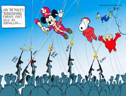 Cartoonist Chip Bok  Chip Bok's Editorial Cartoons 2004-11-24 rifle