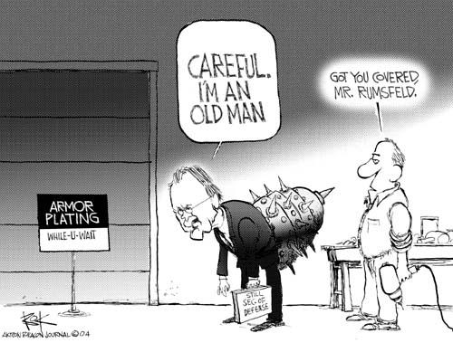Cartoonist Chip Bok  Chip Bok's Editorial Cartoons 2004-12-10 Donald