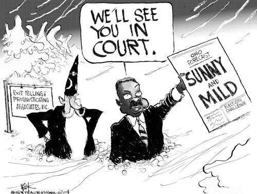 Cartoonist Chip Bok  Chip Bok's Editorial Cartoons 2004-12-29 court