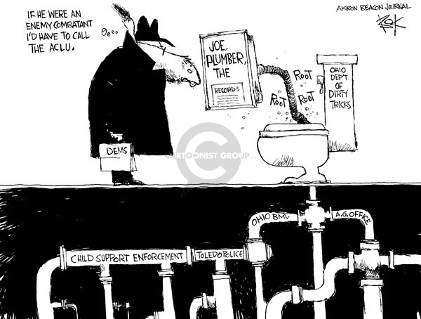 Cartoonist Chip Bok  Chip Bok's Editorial Cartoons 2008-11-03 strategy