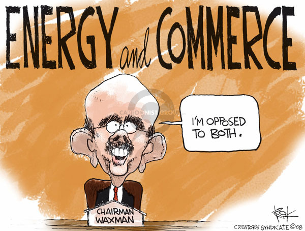 Cartoonist Chip Bok  Chip Bok's Editorial Cartoons 2008-11-24 congressional leadership