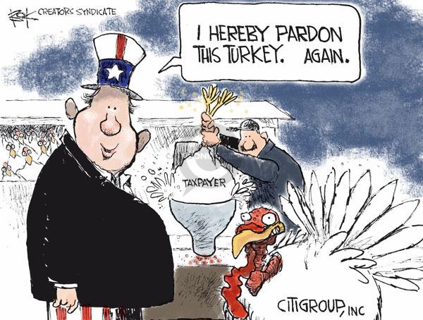 Chip Bok  Chip Bok's Editorial Cartoons 2008-11-26 financial aid