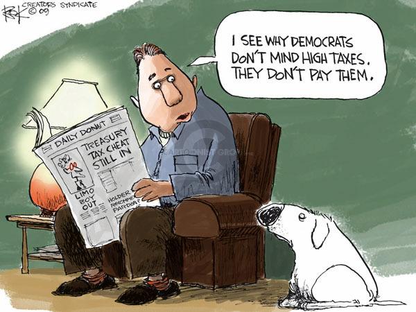 Cartoonist Chip Bok  Chip Bok's Editorial Cartoons 2009-02-05 internal