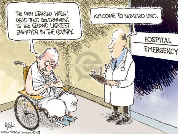 Chip Bok  Chip Bok's Editorial Cartoons 2009-02-20 health care