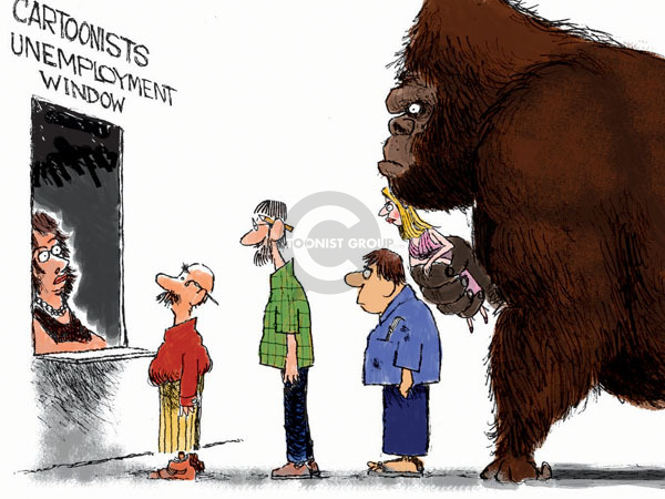 Cartoonist Chip Bok  Chip Bok's Editorial Cartoons 2009-02-23 recession