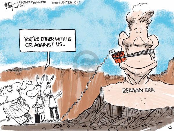 Cartoonist Chip Bok  Chip Bok's Editorial Cartoons 2009-02-27 republican