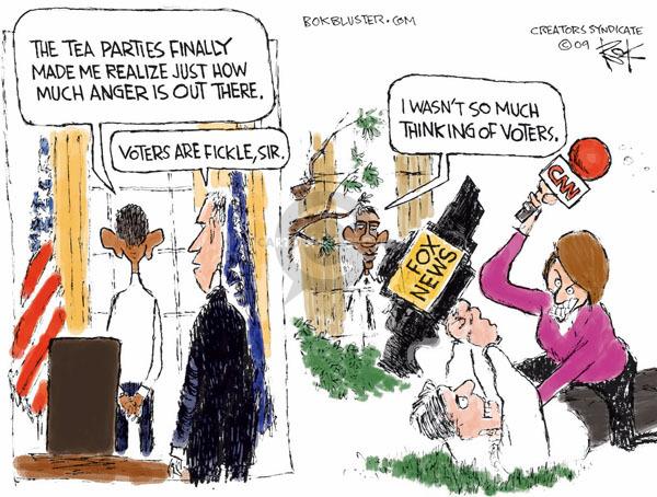Chip Bok  Chip Bok's Editorial Cartoons 2009-04-22 Fox News
