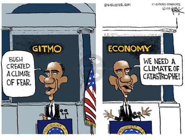 Cartoonist Chip Bok  Chip Bok's Editorial Cartoons 2009-05-27 George W. Bush