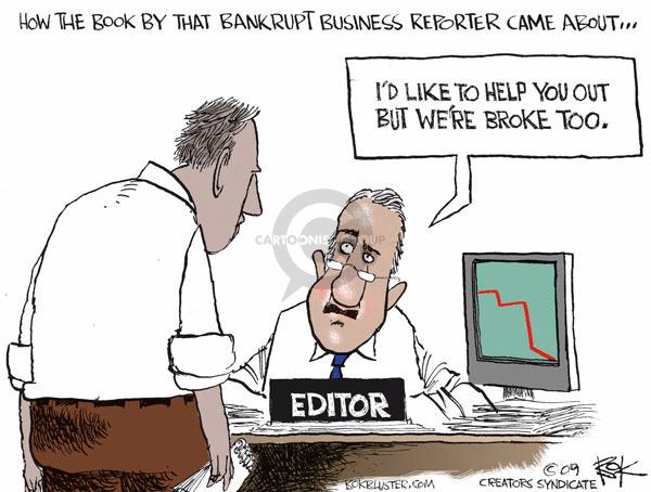 Chip Bok  Chip Bok's Editorial Cartoons 2009-05-30 editor