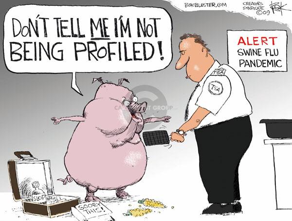 Cartoonist Chip Bok  Chip Bok's Editorial Cartoons 2009-06-15 illness