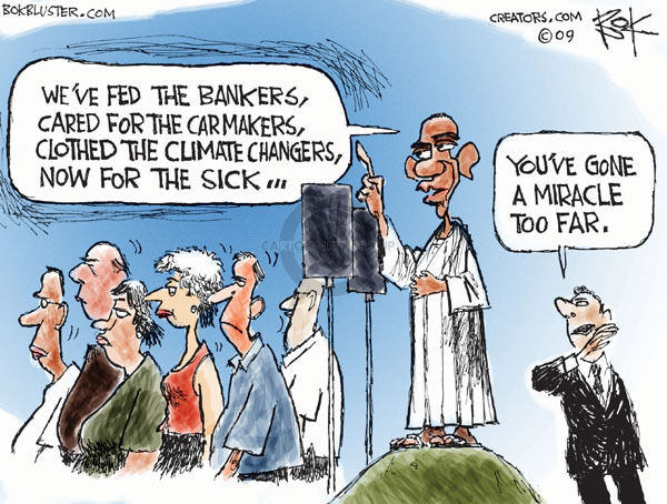 Cartoonist Chip Bok  Chip Bok's Editorial Cartoons 2009-07-22 global economy