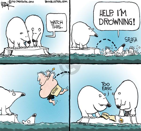Cartoonist Chip Bok  Chip Bok's Editorial Cartoons 2009-10-30 habitat