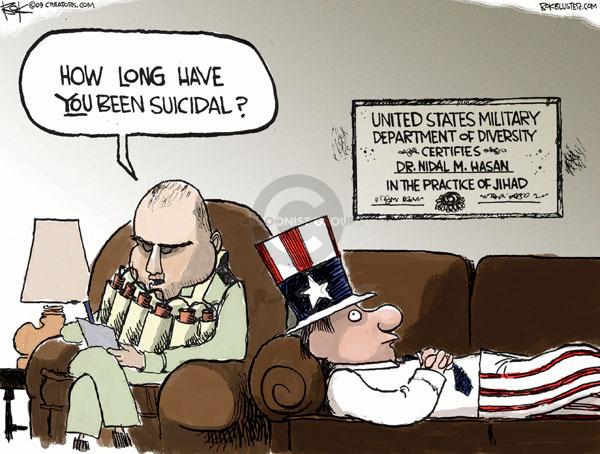 Chip Bok  Chip Bok's Editorial Cartoons 2009-11-11 mental