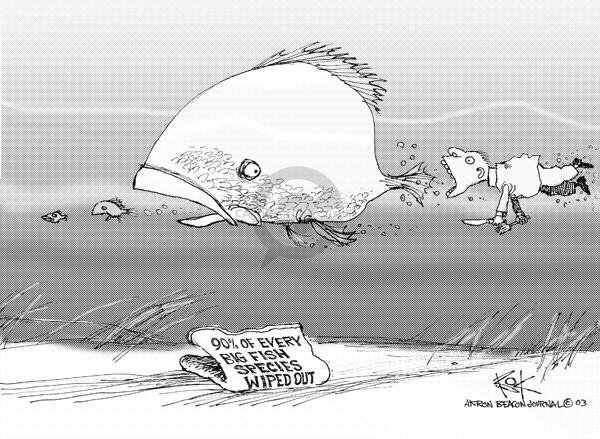 Cartoonist Chip Bok  Chip Bok's Editorial Cartoons 2003-05-19 chip