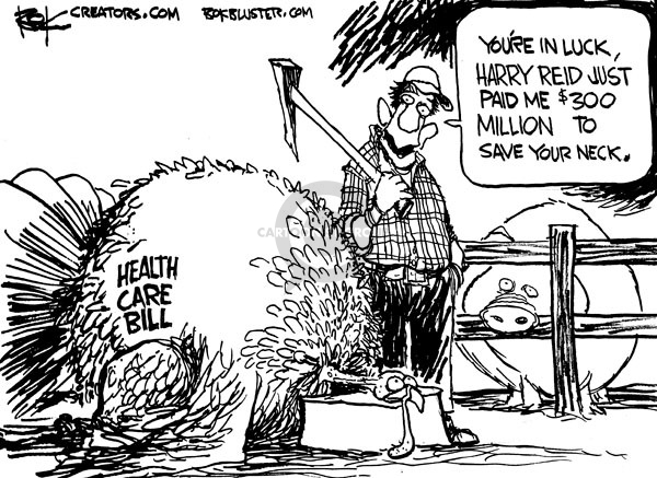 Chip Bok  Chip Bok's Editorial Cartoons 2009-11-24 $300
