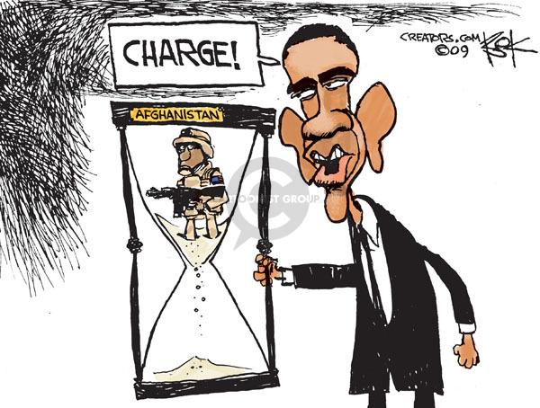 Cartoonist Chip Bok  Chip Bok's Editorial Cartoons 2009-12-02 hour