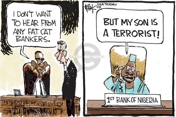 Cartoonist Chip Bok  Chip Bok's Editorial Cartoons 2009-12-29 Obama economy
