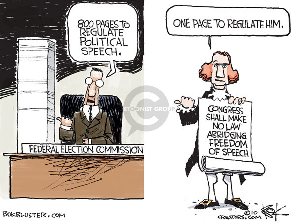 Cartoonist Chip Bok  Chip Bok's Editorial Cartoons 2010-02-02 congressional oversight