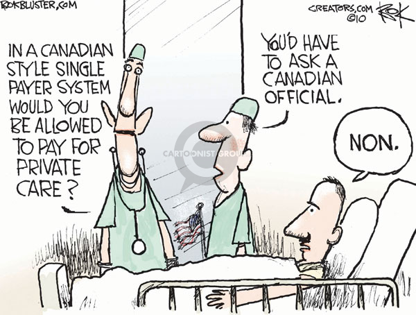 Cartoonist Chip Bok  Chip Bok's Editorial Cartoons 2010-02-03 payer
