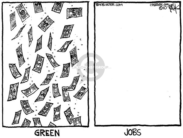 Cartoonist Chip Bok  Chip Bok's Editorial Cartoons 2010-02-16 employment