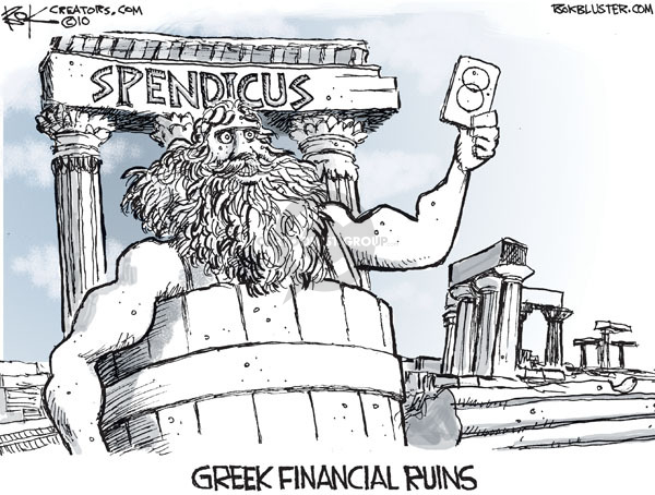 Chip Bok  Chip Bok's Editorial Cartoons 2010-02-18 currency