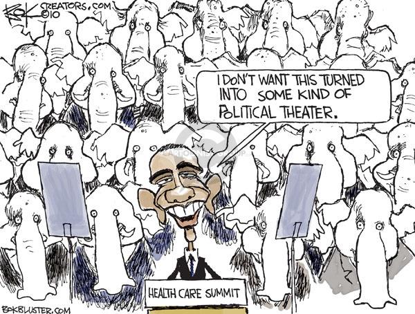 Cartoonist Chip Bok  Chip Bok's Editorial Cartoons 2010-02-24 republican