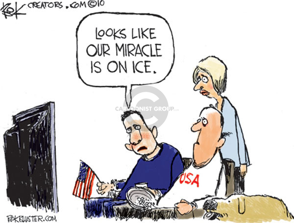 Chip Bok  Chip Bok's Editorial Cartoons 2010-03-01 2010 Olympics