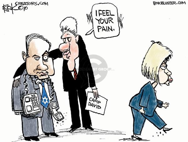 Cartoonist Chip Bok  Chip Bok's Editorial Cartoons 2010-03-20 pain