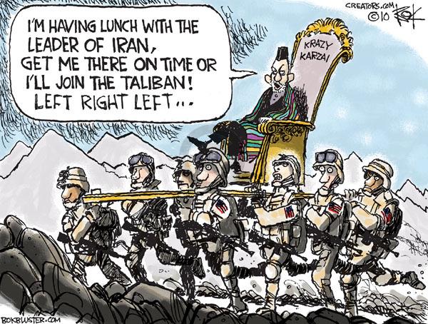 Cartoonist Chip Bok  Chip Bok's Editorial Cartoons 2010-04-06 international relations