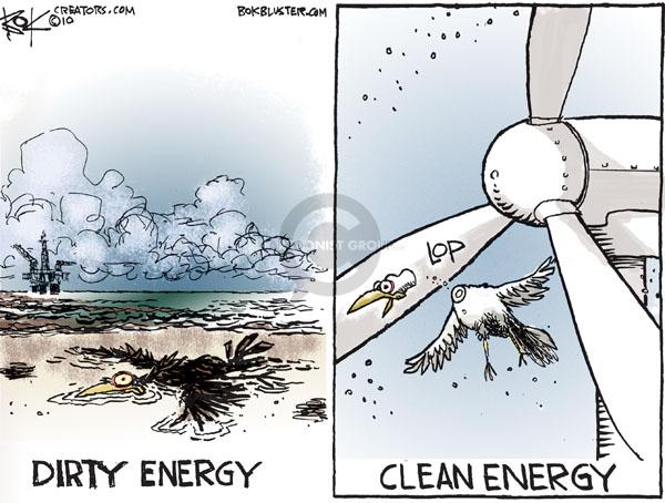 Chip Bok  Chip Bok's Editorial Cartoons 2010-05-10 energy