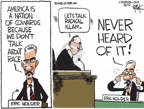 Chip Bok  Chip Bok's Editorial Cartoons 2010-05-17 racism