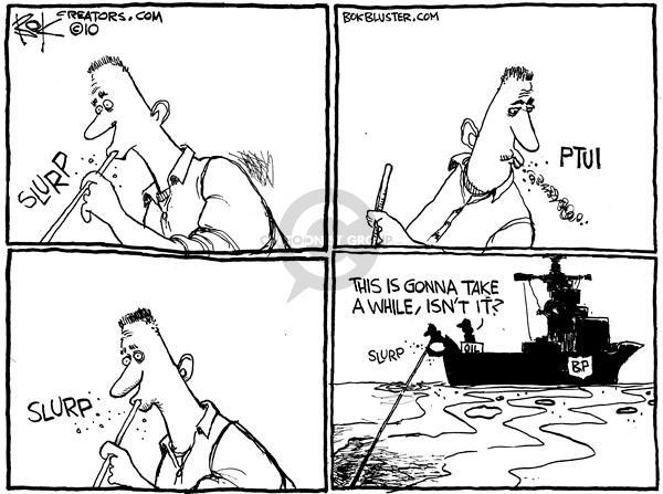 Cartoonist Chip Bok  Chip Bok's Editorial Cartoons 2010-05-26 spill