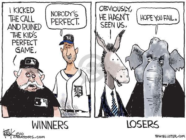 Cartoonist Chip Bok  Chip Bok's Editorial Cartoons 2010-06-05 politics