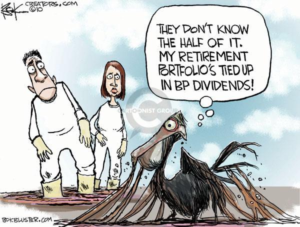 Cartoonist Chip Bok  Chip Bok's Editorial Cartoons 2010-06-14 spill