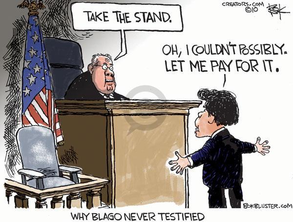 Cartoonist Chip Bok  Chip Bok's Editorial Cartoons 2010-08-19 court