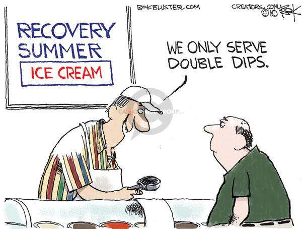Chip Bok  Chip Bok's Editorial Cartoons 2010-08-31 economy
