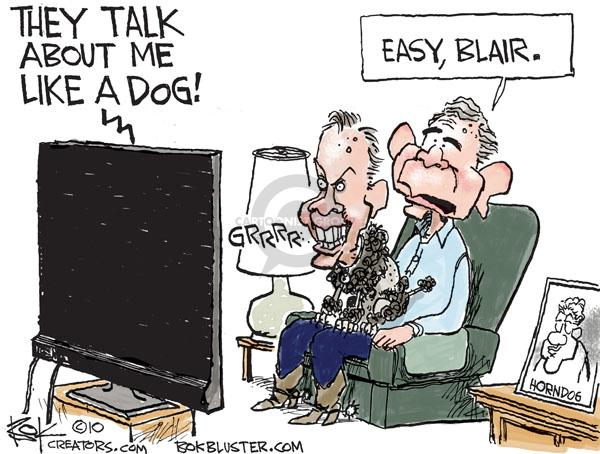 Cartoonist Chip Bok  Chip Bok's Editorial Cartoons 2010-09-07 George Bush