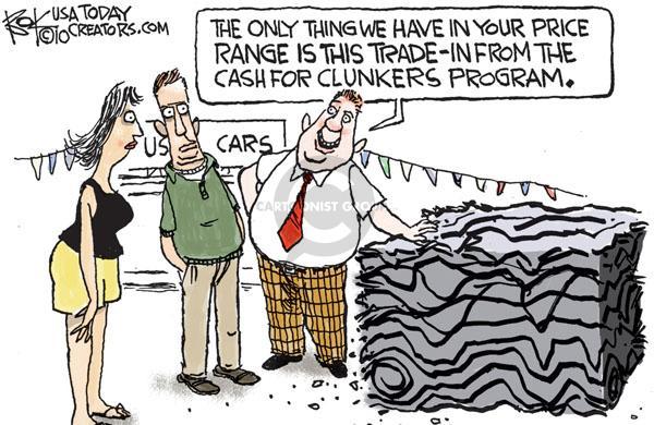 Chip Bok  Chip Bok's Editorial Cartoons 2010-09-13 metal