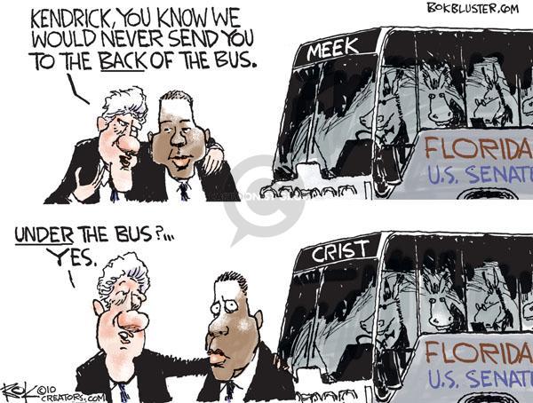 Cartoonist Chip Bok  Chip Bok's Editorial Cartoons 2010-11-01 democratic candidate