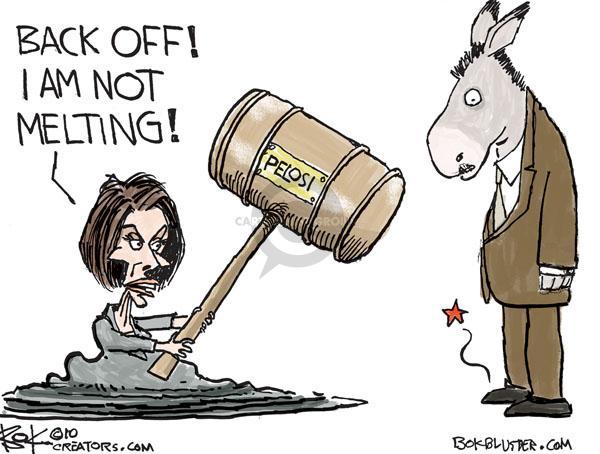 Cartoonist Chip Bok  Chip Bok's Editorial Cartoons 2010-11-12 democrat
