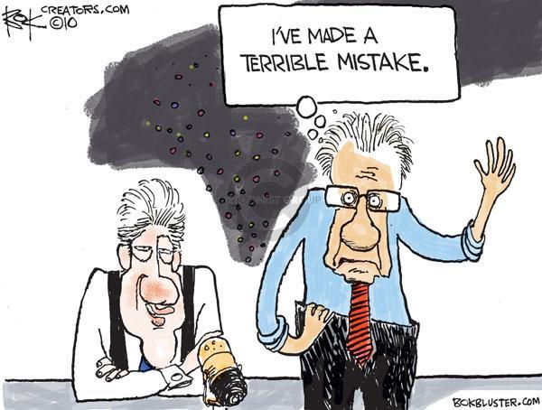 Cartoonist Chip Bok  Chip Bok's Editorial Cartoons 2010-12-17 media