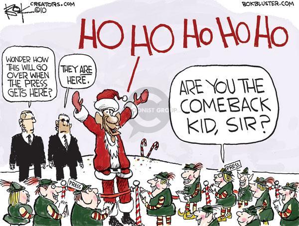 Cartoonist Chip Bok  Chip Bok's Editorial Cartoons 2010-12-22 mainstream media