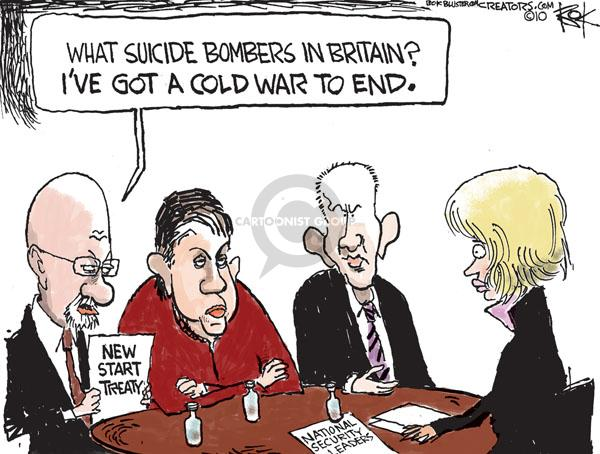 Chip Bok  Chip Bok's Editorial Cartoons 2010-12-23 bomber