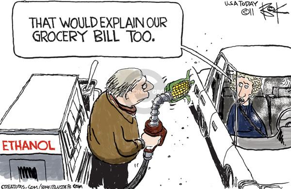 Cartoonist Chip Bok  Chip Bok's Editorial Cartoons 2011-01-17 food